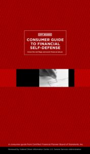 thumbnail of Consumer Guide to Financial Self-Defense