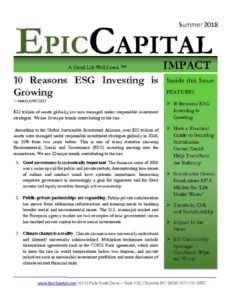 thumbnail of Epic Capital Impact – SUMMER 2018