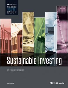 thumbnail of LPL – Sustainable Investing