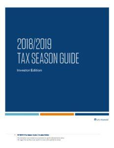 thumbnail of 2018-2019 Tax Season Guide