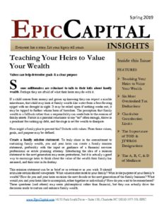 thumbnail of Epic Insights – SPRING 2019