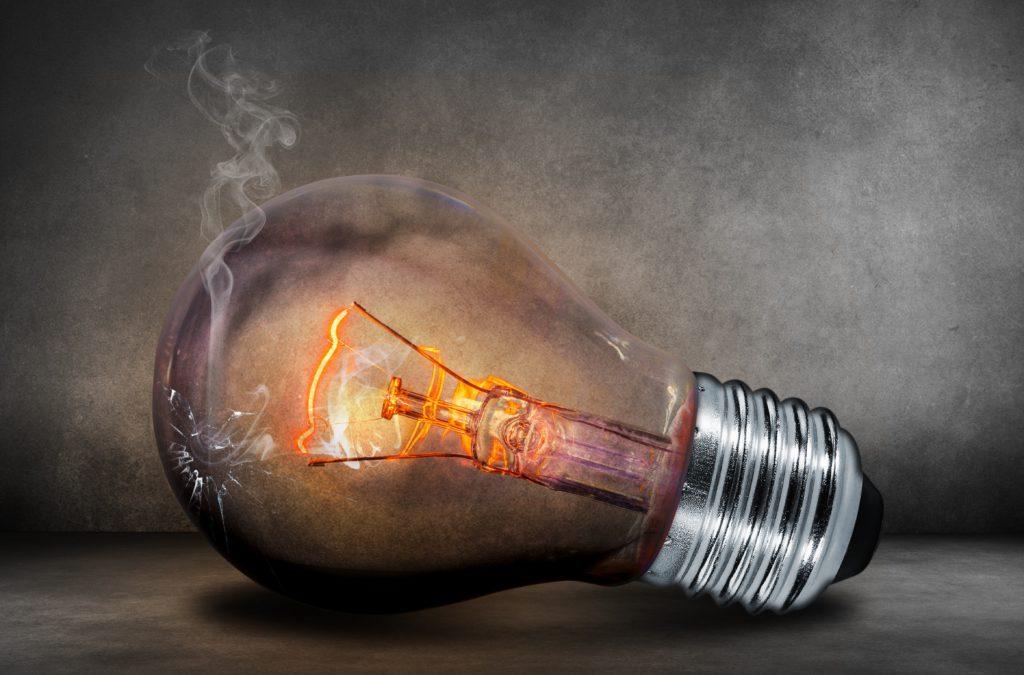 Smoking Light Bulb