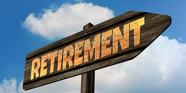 Street Sign that reads Retirement