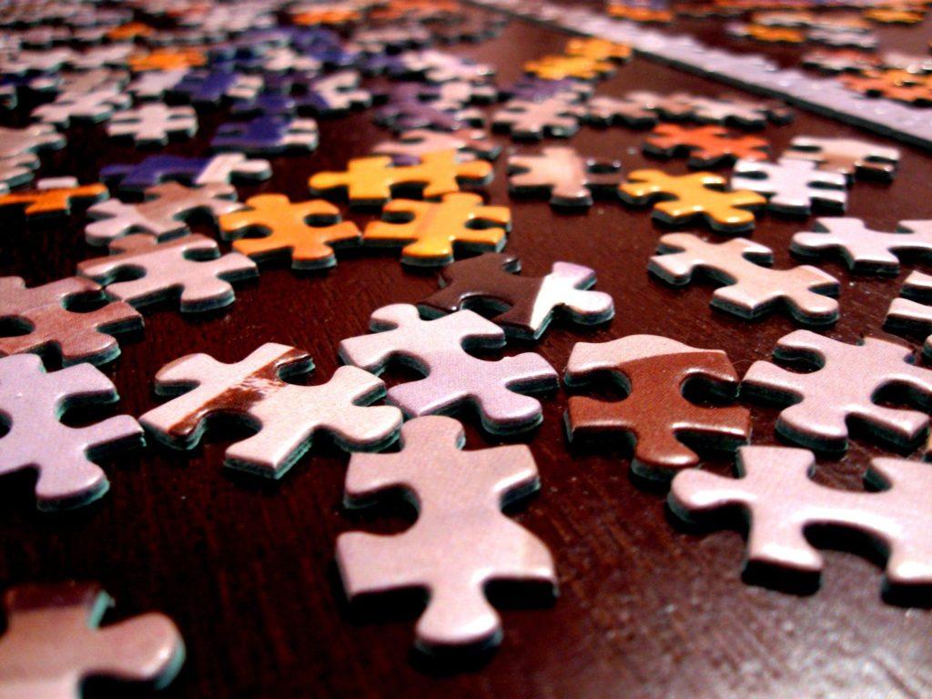Broken Puzzle Pieces