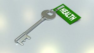 A Key tagged Health