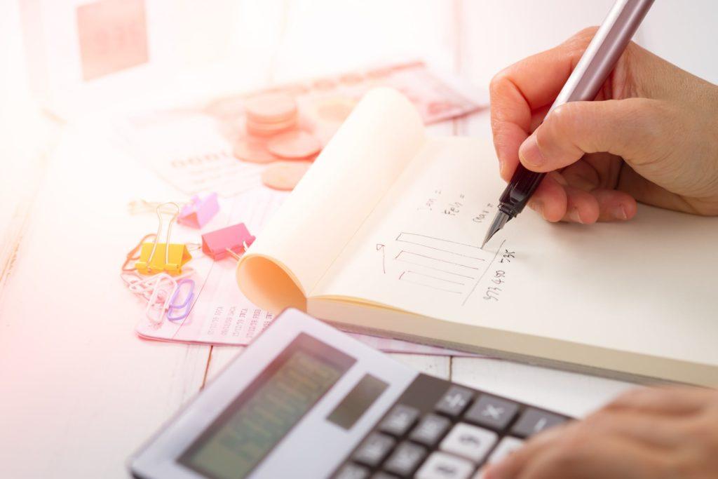 Retirement strategy and finances calculator writing formulas