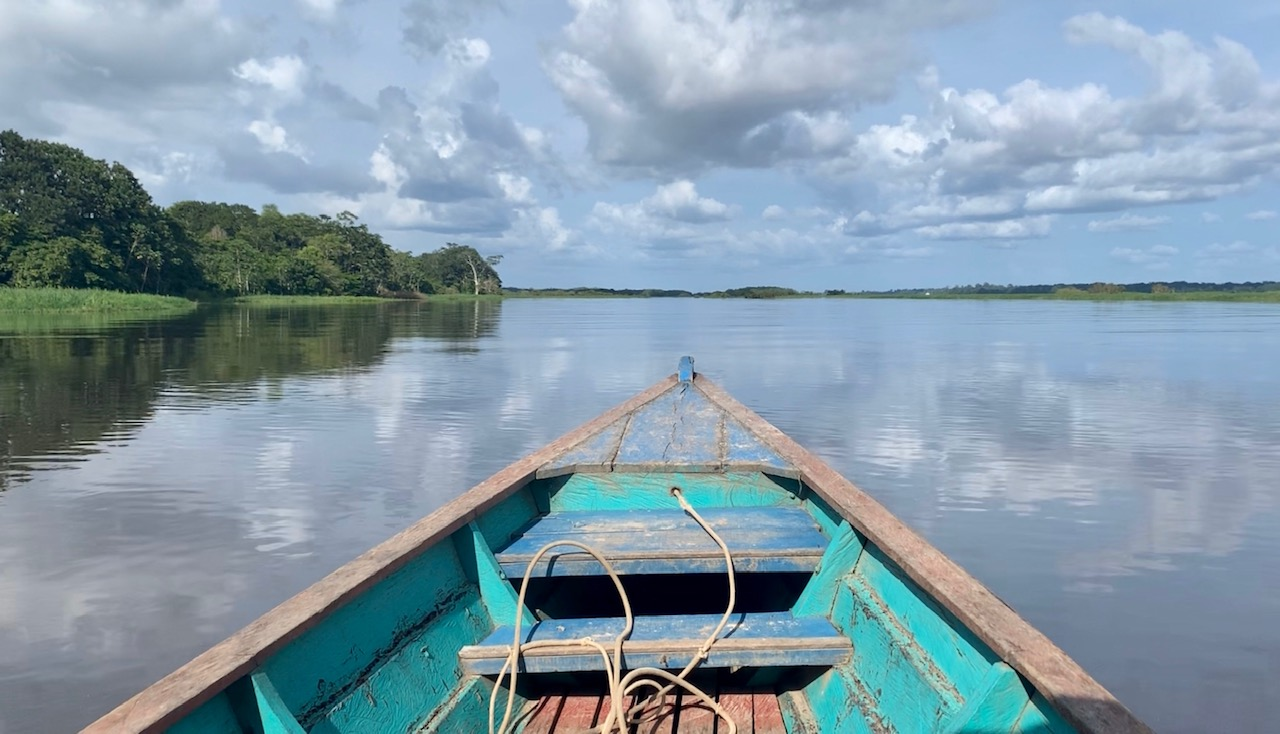 Wine to Water Amazon River boat serene peaceful