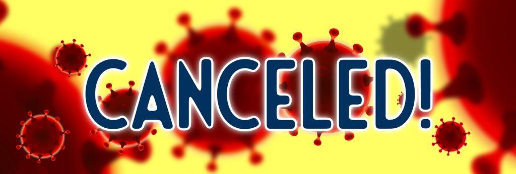 Coronavirus Cancelled washout