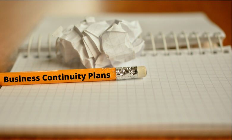 Business Continuity Plan Pencil Notebool