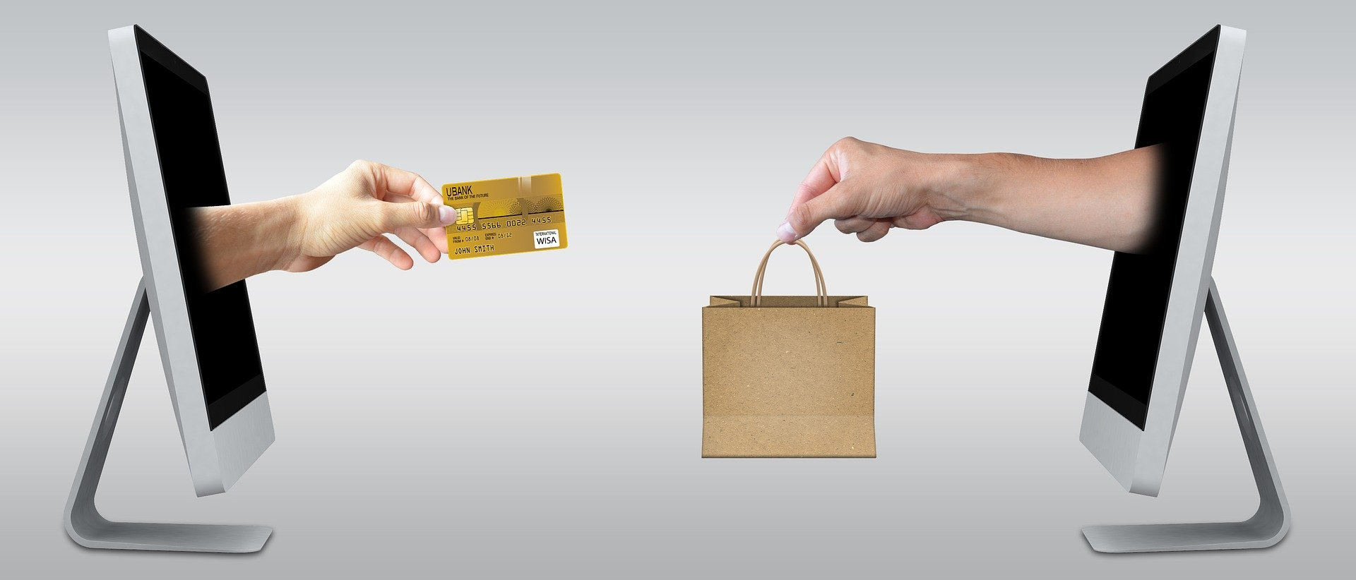 Shopping Online Computers Credit Card