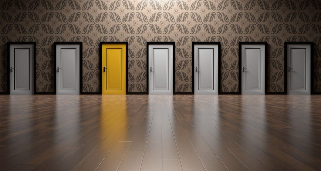 Investment Choices Doors Room