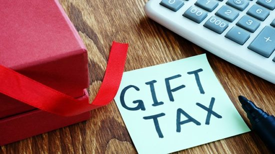 Gift Tax Table with Calculator