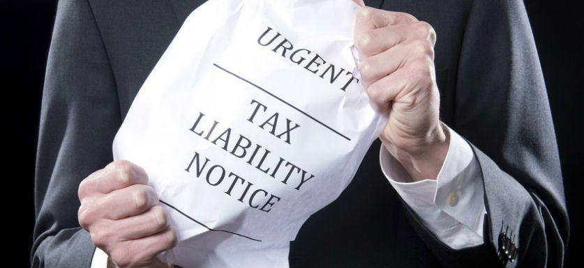 Urgent Tax Liability Notice