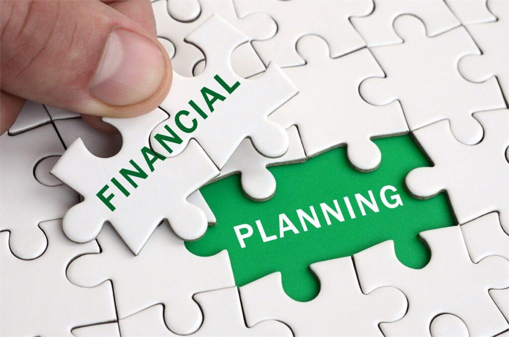 Financial Planning Puzzle Pieces