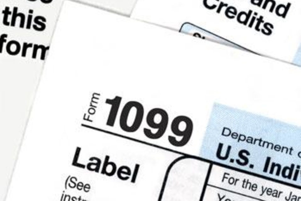 1099 form label