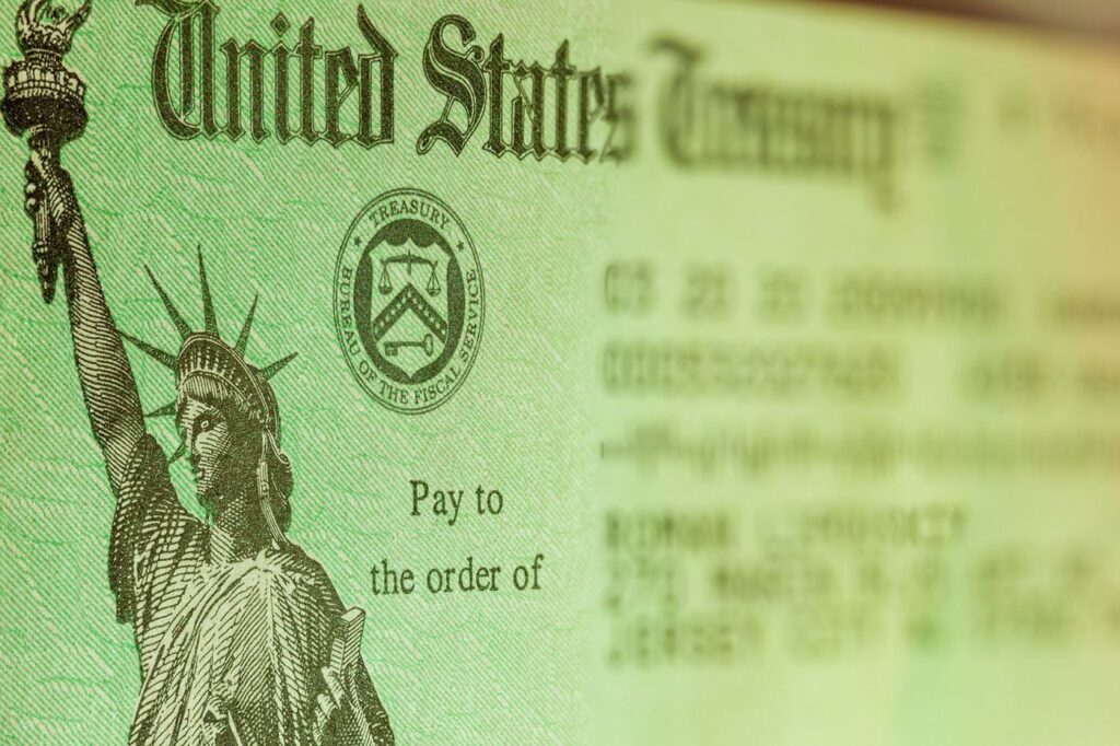 United States Treasury Stimulus Checks