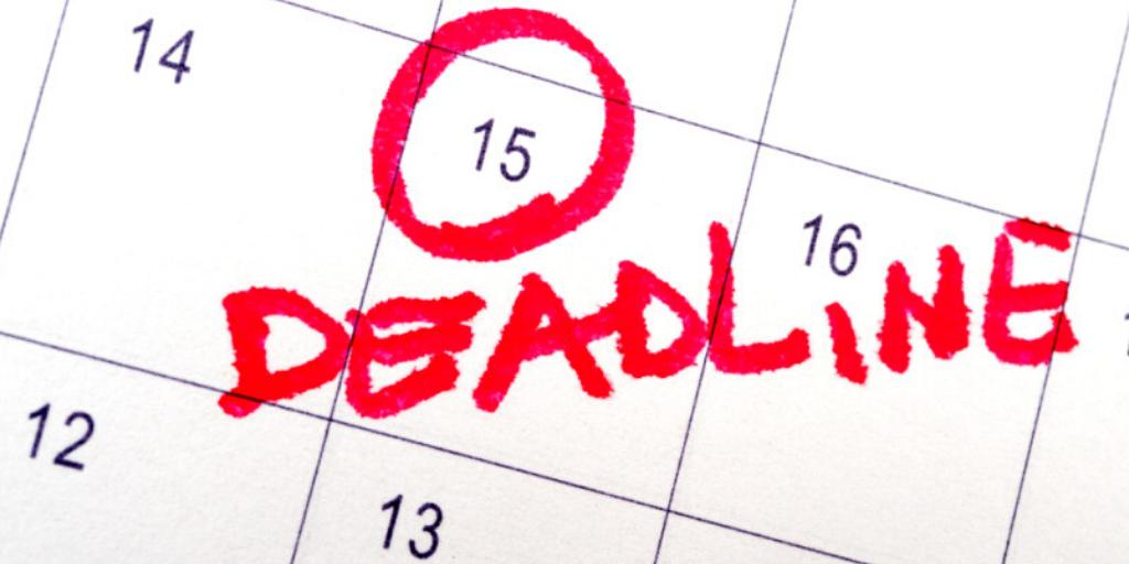 IRA Deadlines Calendar 15