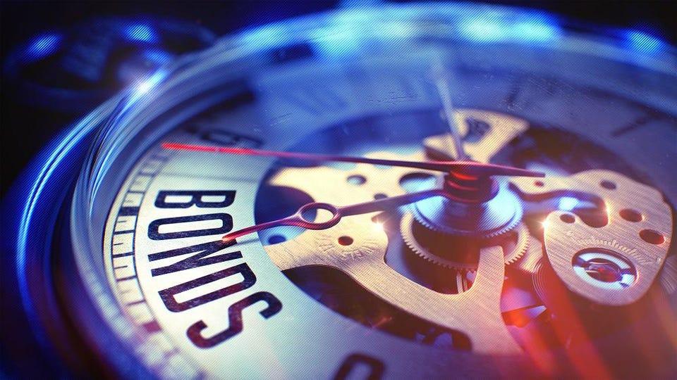 Bond yields clock ticks down